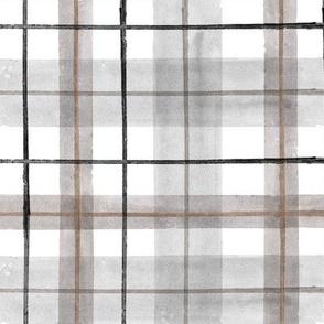 gray white tartan