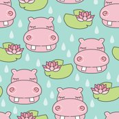 Rrrhippos-and-water-lilies-on-blue_shop_thumb