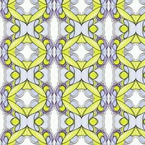 Gingham lemon