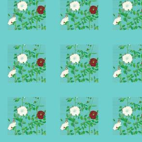Musk Rose for Spoonflower