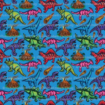 Extinct in Blue