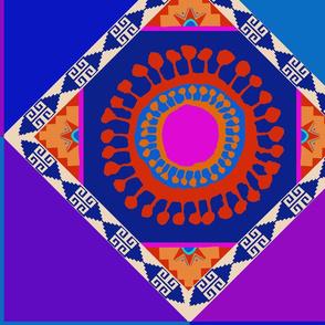 Aztec Del Sol Quilt