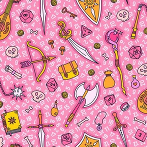 RPG Quest Large in Pink & Orange
