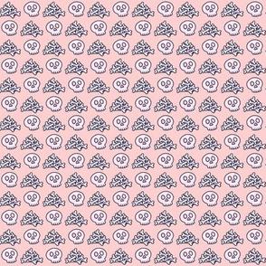 Pile o' Bones for Pink & Orange Colorway