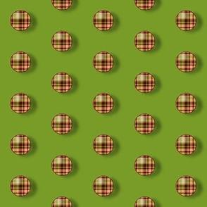 BNS7 - SM- Plaid Polka Dots on Avocado