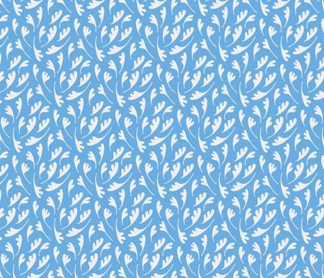 little_leaves_9 fabric by enariyoshi on Spoonflower - custom fabric