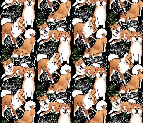 Breezeley poses fabric by hakuai on Spoonflower - custom fabric