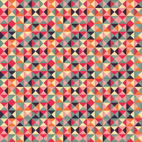 Geometric pattern triangles 008