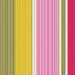 1950s Ribbed Stripes