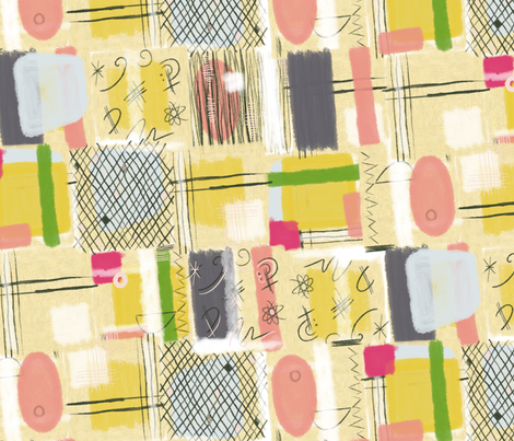 Abstract Patch fabric by seesawboomerang on Spoonflower - custom fabric