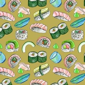 Dancing Sushi Gold
