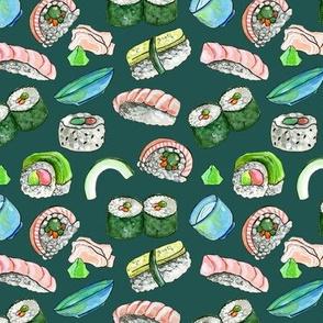 Dancing Sushi Green