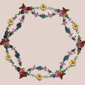 circle of flowers10
