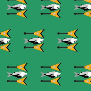 Can't Tuna Fish-green