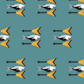 Can't Tuna Fish-blue grey