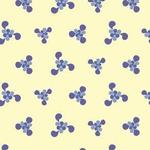 Violet Floral Kaleidoscope 2