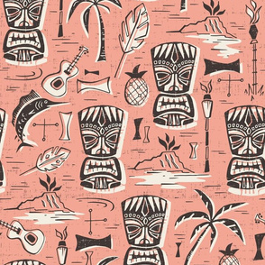 Tropical Tiki - Pink