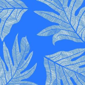 'Ulu Nui White on Kaua'i Blue 150