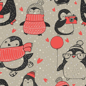 Penguin Christmas II