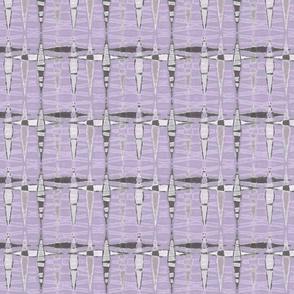 Mid Century Double Diamonds, Violet