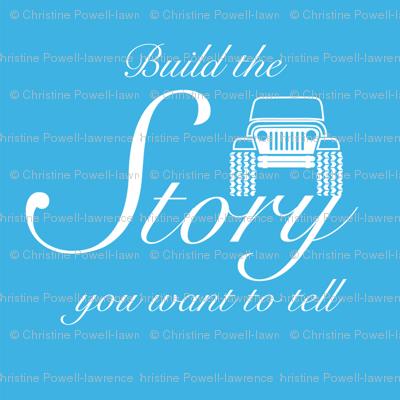 Build Story - Royal Blue