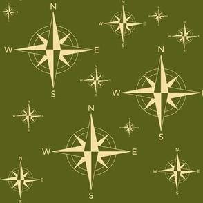 Compass OD Green
