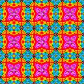 Hot Pink Checkered Blocks