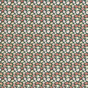 """Pinks White Pattern on Green 2"""""""