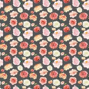 """Pinks White Pattern Grey 6"""""""