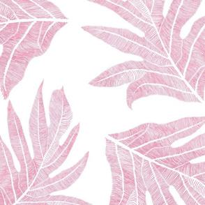 'Ulu Nui Ginger Blossom on White 150
