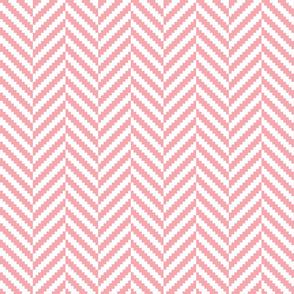 Pink Herringbone Pattern | K020