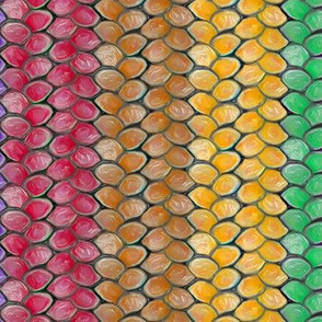 Rainbow Dragon Scales