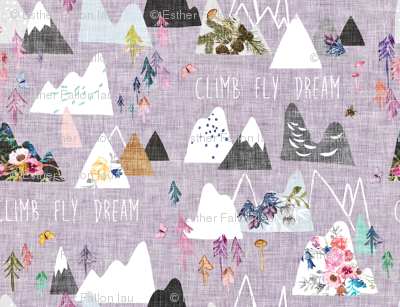 Mountain Dreams (lavender)