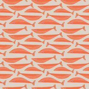 Orange whales (small scale)