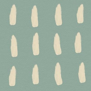 strokes (large) - yellow on aqua