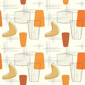 Boomerang Gold-Orange