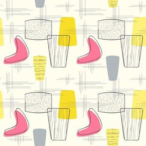 Boomerang Pink-Yellow