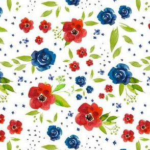 Forth of July floral