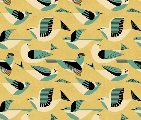 Rrrrrr1950s-birds-soft-teal-and-gold-flying-01_shop_preview