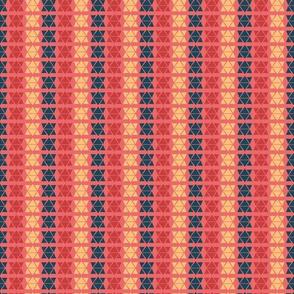 Hand Drawn Triangle Patterns Stripes