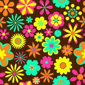 1960s Retro Floral