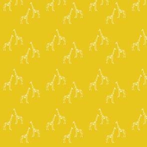 Scratchy Giraffe mustard