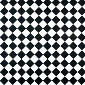 Weathered diamond tile
