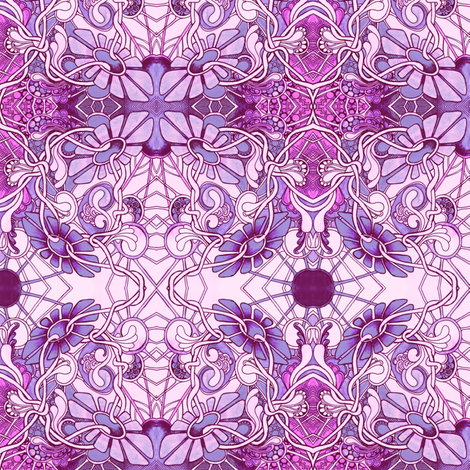 Down the Rabbit Hole with Alice fabric by edsel2084 on Spoonflower - custom fabric