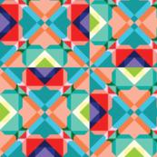 Geometric Groove Tiles