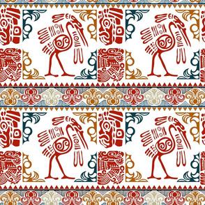 Aztec Heron Border