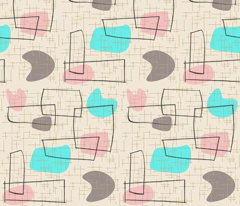 Savo - Turquoise fabric by theaov on Spoonflower - custom fabric