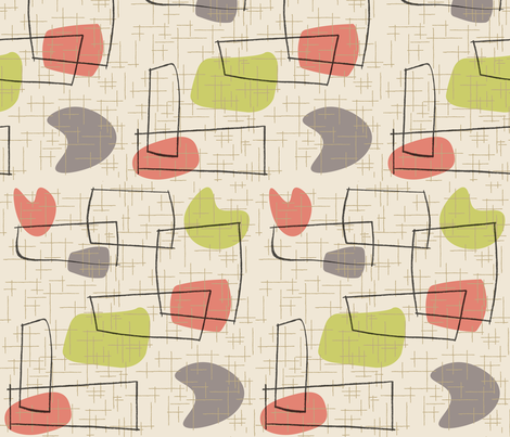Savo - Lime fabric by theaov on Spoonflower - custom fabric