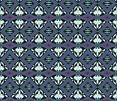 arabesque 157 fabric by hypersphere on Spoonflower - custom fabric