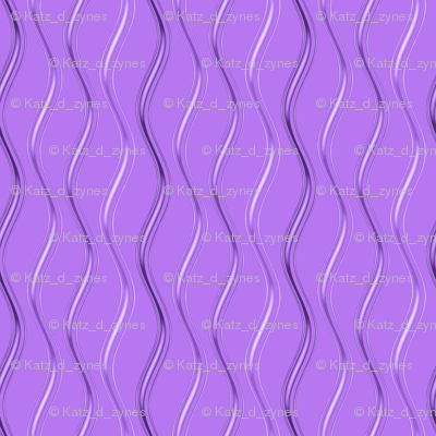 mod purple waves